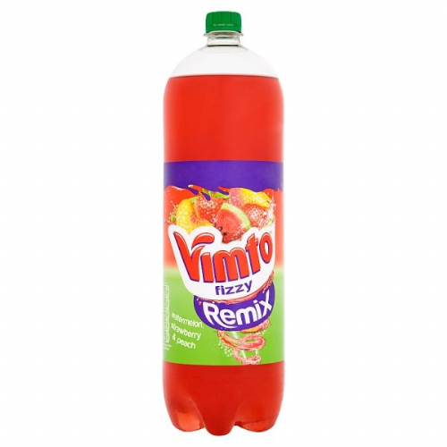 Vimto Fizzy Remix Watermelon, Strawberry & Peach 2 Litre